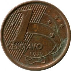Moneta > 1centavo, 1998-2004 - Brazylia  - reverse