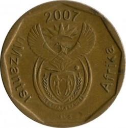 Moneta > 10centów, 2007 - Afryka Południowa  - obverse