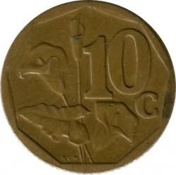 Moneta > 10centów, 2007 - Afryka Południowa  - reverse