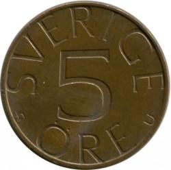 Coin > 5ore, 1979 - Sweden  - reverse