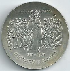 Moneda > 10marcos, 1983 - Alemania - RDA  (100º Aniversario - Muerte de Richard Wagner) - reverse