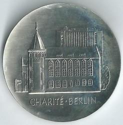 Moneda > 10marcos, 1986 - Alemania - RDA  (275º Aniversario - Caridad de Berlín) - reverse