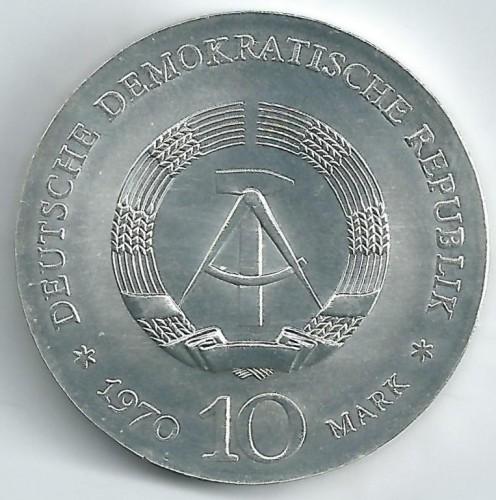10 Mark 1970 Ludwig Van Beethoven Deutschland Ddr Münzen Wert