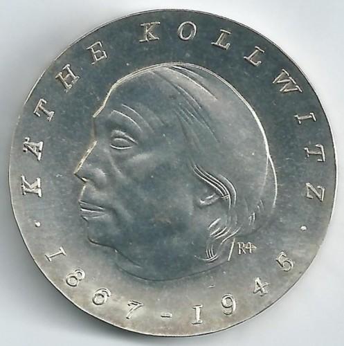 10 Mark 1967 Käthe Kollwitz Deutschland Ddr Münzen Wert