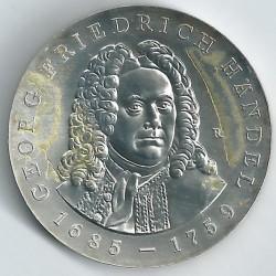 Moneda > 20marcos, 1984 - Alemania - RDA  (300º Aniversario - Nacimiento de George Frideric Handel) - reverse