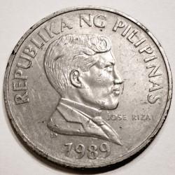 Mynt > 1piso, 1983-1990 - Filippinene  - obverse