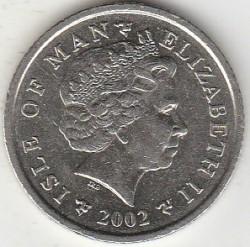 Кованица > 10пенија, 2000-2003 - Острво Мен  - obverse