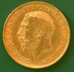 錢幣 > 1鎊(索維林), 1916 - 英國  - obverse