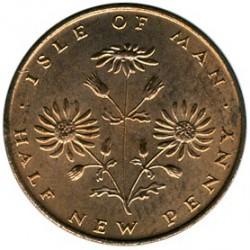 Монета > ½новопени, 1971-1975 - Остров Ман  - reverse