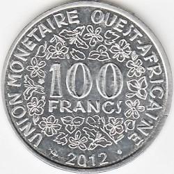 Moneda > 100francos, 2012-2019 - África Occidental (BCEAO)  - reverse