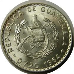 سکه > 25سنتاوس, 1960-1964 - گواتمالا  - obverse