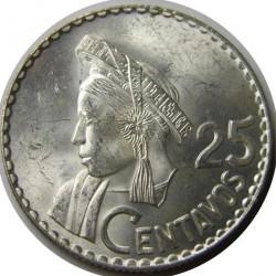 سکه > 25سنتاوس, 1960-1964 - گواتمالا  - reverse