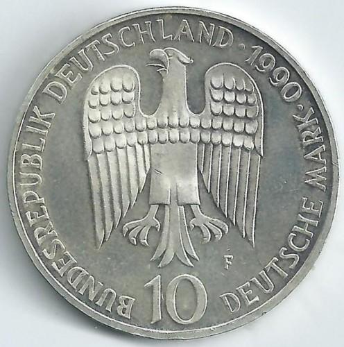 10 Mark 1990 Frederick I Barbarossa