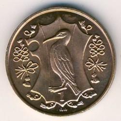 Moneta > 1penny, 1984 - Isola di Man  (500th Anniversary - College of Arms) - reverse