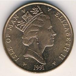 Moneta > 1penny, 1988-1995 - Isola di Man  - obverse