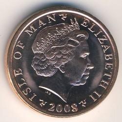 Moneta > 1penny, 2004-2016 - Isola di Man  - obverse