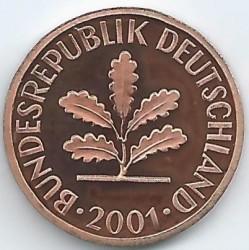 Münze > 1Pfennig, 2001 - Deutschland  - obverse