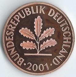 Münze > 2Pfennig, 2001 - Deutschland  - obverse