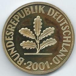 Münze > 10Pfennig, 2001 - Deutschland  - obverse