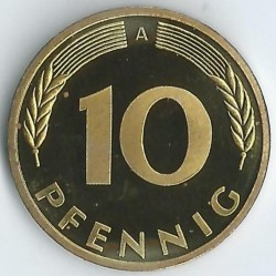 Moneda > 10peniques, 2001 - Alemania  - obverse