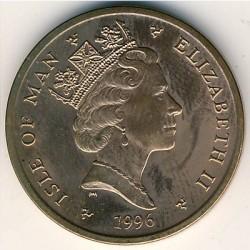 Монета > 2пенса, 1996-1997 - Острів Мен  - obverse