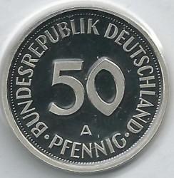 Münze > 50Pfennig, 2001 - Deutschland  - reverse