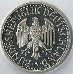 Münze > 1Mark, 2001 - Deutschland  - obverse