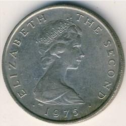 Монета > 5новипенса, 1971-1975 - Остров Ман  - obverse