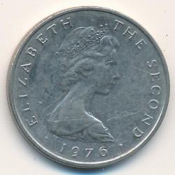 Moneta > 5pence, 1976-1979 - Isola di Man  - obverse