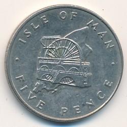 Moneta > 5pence, 1976-1979 - Isola di Man  - reverse