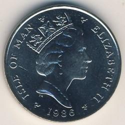 Монета > 5пенсів, 1985-1987 - Острів Мен  - obverse