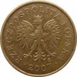 Mynt > 1grosz, 1990-2014 - Polen  - reverse