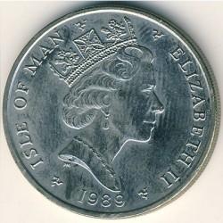 Moneta > 10pence, 1988-1992 - Isola di Man  - obverse