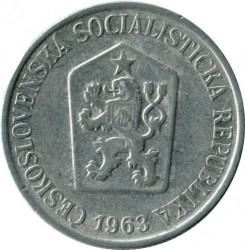 Moneda > 25hellers, 1962-1964 - Txecoslovàquia  - obverse