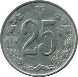 Moneda > 25hellers, 1962-1964 - Txecoslovàquia  - reverse