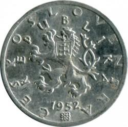 Монета > 50хелера, 1951-1953 - Чехословакия  - obverse