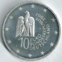 Moeda > 10euro, 2002 - Alemanha  (Museu de Berlim) - obverse