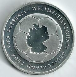 Moeda > 10euro, 2003 - Alemanha  (Campeonato Mundial de Futebol, Alemanha 2006) - reverse