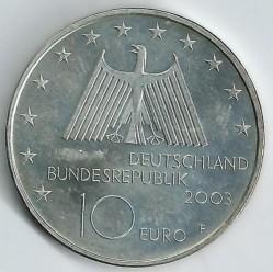 Moeda > 10euro, 2003 - Alemanha  (Distrito Industrial Vale do Ruhr) - obverse