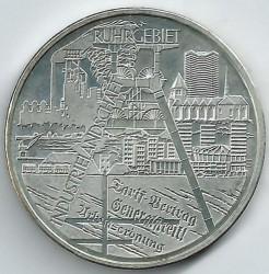 Moeda > 10euro, 2003 - Alemanha  (Distrito Industrial Vale do Ruhr) - reverse