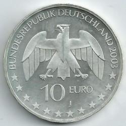 Moneda > 10euros, 2003 - Alemania  (200º aniversario del nacimiento de Justus von Liebig) - obverse