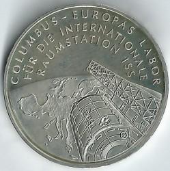 מטבע > 10אירו, 2004 - גרמניה  (Columbus Laboratory on ISS) - reverse