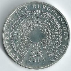 سکه > 10یورو, 2004 - آلمان  (Expansion of the European Union) - reverse