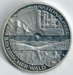 Moeda > 10euro, 2005 - Alemanha  (Parque Nacional da Floresta da Baviera) - reverse