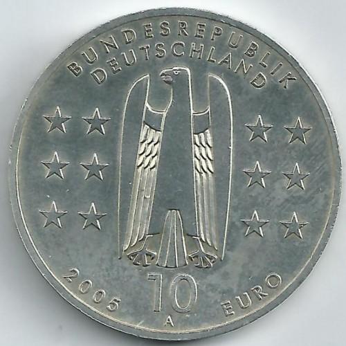 10 Euro 2005 Magdeburg Deutschland Münzen Wert Ucoinnet