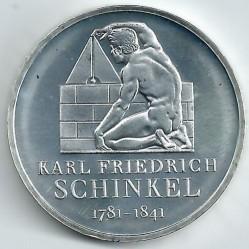 Moeda > 10euro, 2006 - Alemanha  (225 Anos do Nascimento do Arquitecto Karl Friedrich Schinkel) - reverse