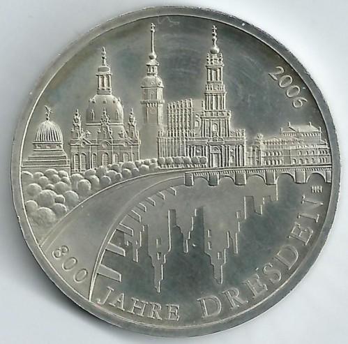 10 Euro 2006 Dresden Deutschland Münzen Wert Ucoinnet