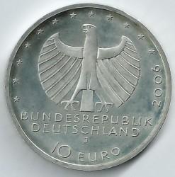 Moeda > 10euro, 2006 - Alemanha  (650 Anos da Liga Hanseática) - obverse