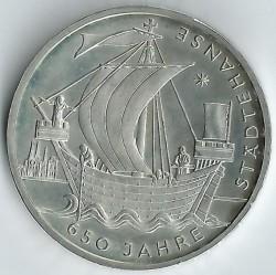 Moeda > 10euro, 2006 - Alemanha  (650 Anos da Liga Hanseática) - reverse