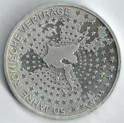 Moeda > 10euro, 2007 - Alemanha  (50 Anos da Assinatura do Tratado de Roma) - reverse